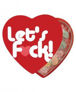 Let's Fuck! Candy in a Heart Box