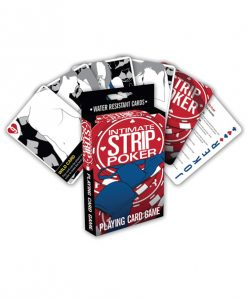 Intimate Strip Poker Playing Card Game