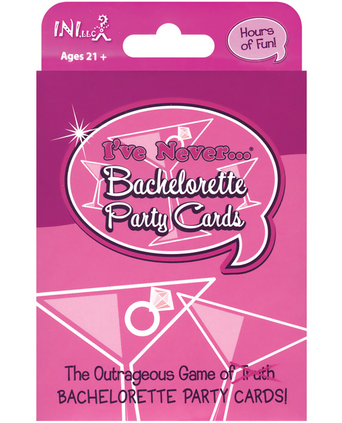 I've Never Bachelorette Party Cards
