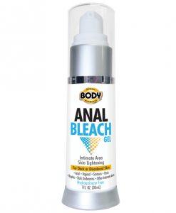Body Action Anal Bleach Gel 1 oz