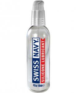 Swiss Navy Silicone Lubricant 4oz Pump