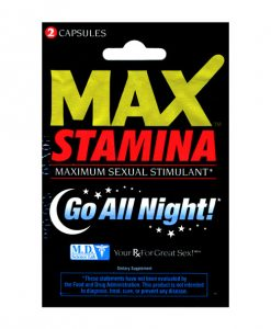 Swiss Navy Max Stamina -2 pill pack