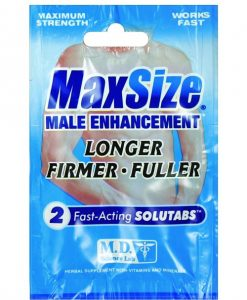 Swiss Navy Max Size-2 pill pack