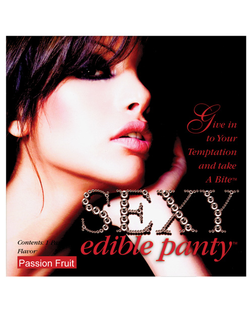 Sexy Edible Panty - Passion Fruit