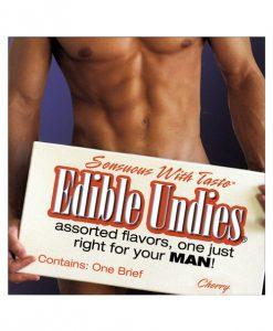 Men's Edible Undies - Cherry