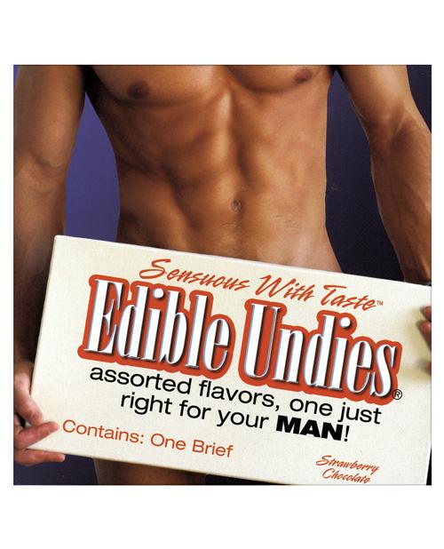 Mens Edible Undies - Strawberry/Chocolate