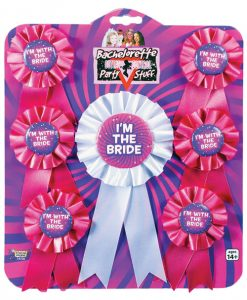 Bachelorette Ribbons - Asst. Pack of 7