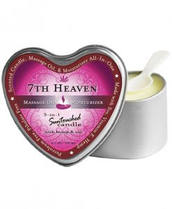 Earthly Body 3 In 1 Candle - 4.7 oz Heart Tin 7th Heaven