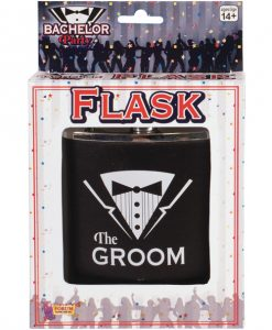 Bachelor Party Groom Flask