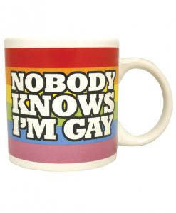 Attitude Mug Nobody Knows I'm Gay