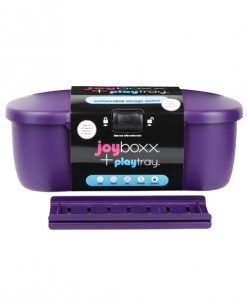 New Joyboxx Hygienic Adult Toy Storage System - Purple