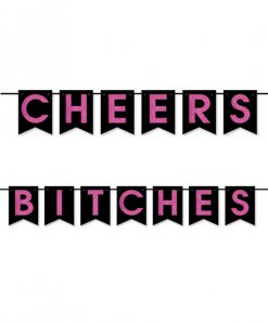 Cheers Bitches Pennant Banner
