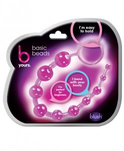 Blush B Yours Basic Anal Beads - Purple