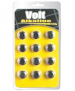 Blush Volt Alkaline Batteries - AG13 Pack of 12