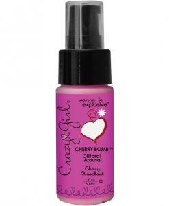 Crazy Girl Cherry Bomb Cherry Knockout 1oz.