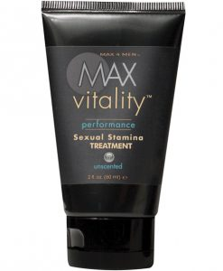 Max 4 Men Max Vitality Sexual Stamina Treatment 2oz tube