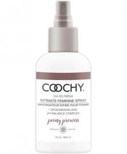 COOCHY Intimate Feminine Spray - 4 oz Peony Prowess