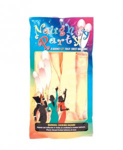 "Naughty Party 22"" Penis Balloons - Flesh Pack of 8"