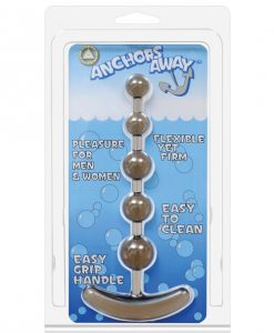 Anchor's Away Beaded Anal Plug - Black