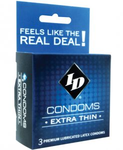 ID Extra Thin Condoms - Box of 3