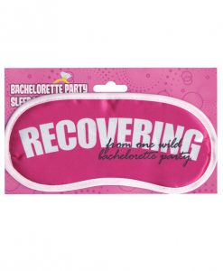 Bachelorette Party Sleep Mask - Recovering