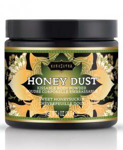 Kama Sutra Honey Dust - 6 oz Sweet Honeysuckle