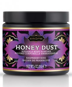 Kama Sutra Honey Dust - 6 oz Raspberry Kiss
