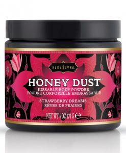 Kama Sutra Honey Dust - 6 oz Strawberry Dreams