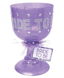 Bachelorette Party Favors Bride to be Pimp Glass