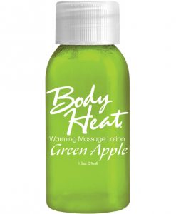 Body Heat Lotion  - 1 oz Apple