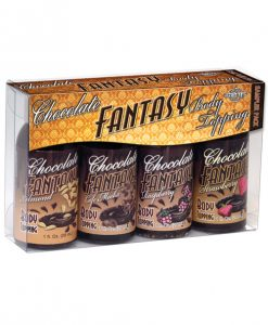 Chocolate Fantasy Lovers Body Topping Sampler - 1 oz Pack of 4