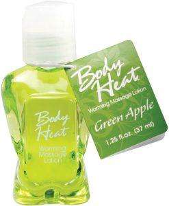 Mini Body Heat Lotion - 1.25 oz Green Apple