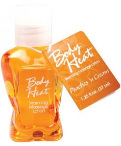 Mini Body Heat Lotion - 1.25 oz Peaches n' Cream