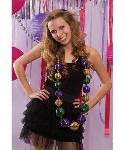 Jumbo Mardi Gras Beads - by sassigirl