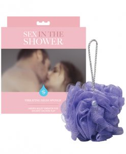 Sex in the Shower Vibrating Mesh Sponge