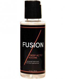 Fusion Deep Action Silicone Lubricant - 2 oz Bottle