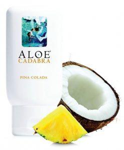 Aloe Cadabra Organic Lubricant - 2.5 oz Bottle Pina Colada