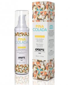 EXSENS of Paris Warming Massage Oil - Pina Colada