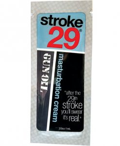 Stroke 29 Masturbation Cream - .25 oz Foil Bag of 50