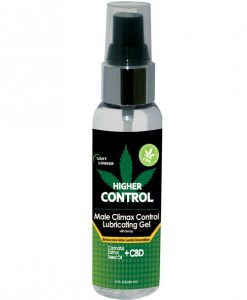 High Control Climax Control Gel for Men w/Hemp Seed Oil - 2 oz