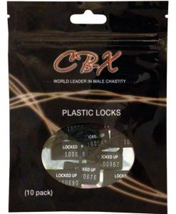 Plastic Cock Cage Lock - Pack of 10