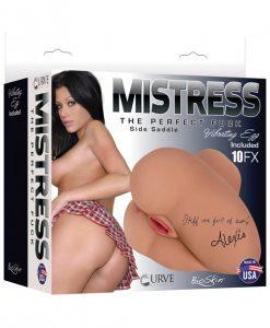 Curve Mistress Vibrating BioSkin Side Saddle Alexis - Latte