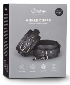 Easy Toys Fetish Ankle Cuffs - Black