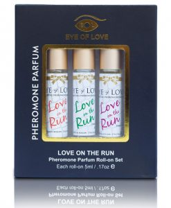 Eye of Love Female to Male Pheromone Roll On Set - Set of 3