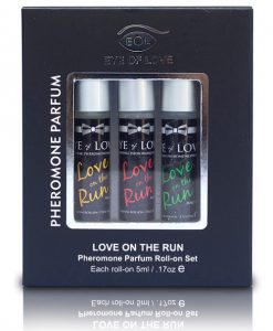 Eye of Love Male to Female Pheromone Roll On Set - Set of 3