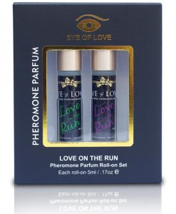 Eye of Love Male to Male Pheromone Roll-on Set - Set of 2