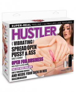 Hustler Toys Vibrating Pussy & Ass - Sasha Grey