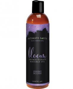 Intimate Earth Bloom Massage Oil - 120 ml Peony Blush