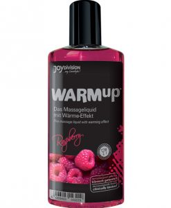 Joydivision WARMup Massage Oil - 150 ml Raspberry