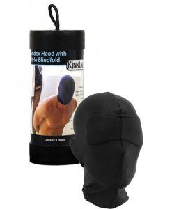 KinkLab Spandex Hood w/Built-in Blindfold